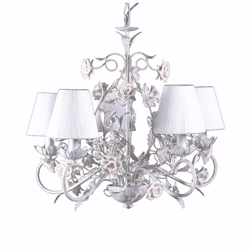 Countryside style chandelierwhite brush gold indoor lighting hot products aloadofball Images